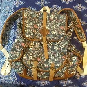 Super cute floral backpack